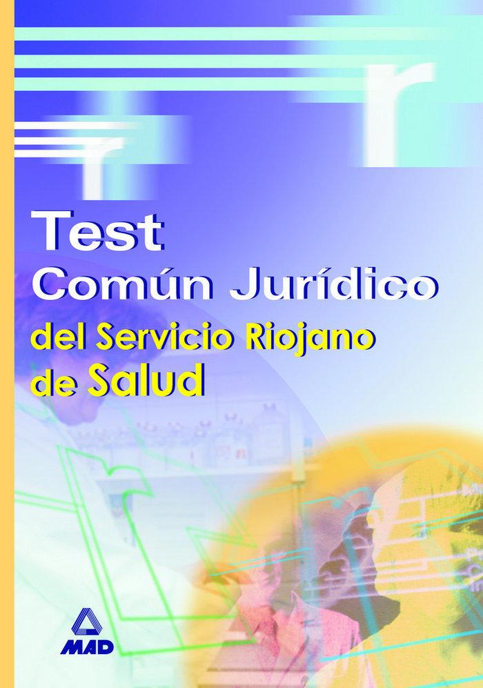 Test comun juridico servicio riojano de salud