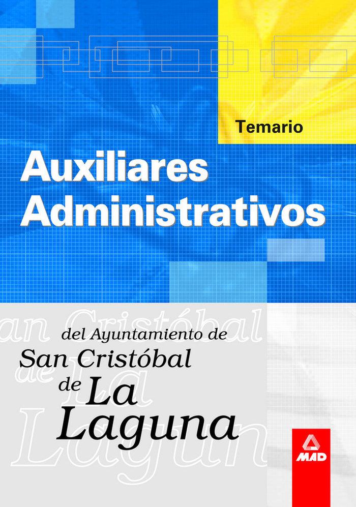 Auxiliar administ ayuntamiento laguna temario