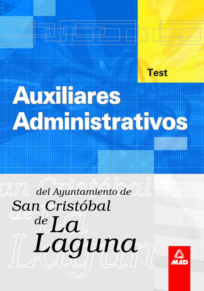 Auxiliar administ ayuntamiento laguna test