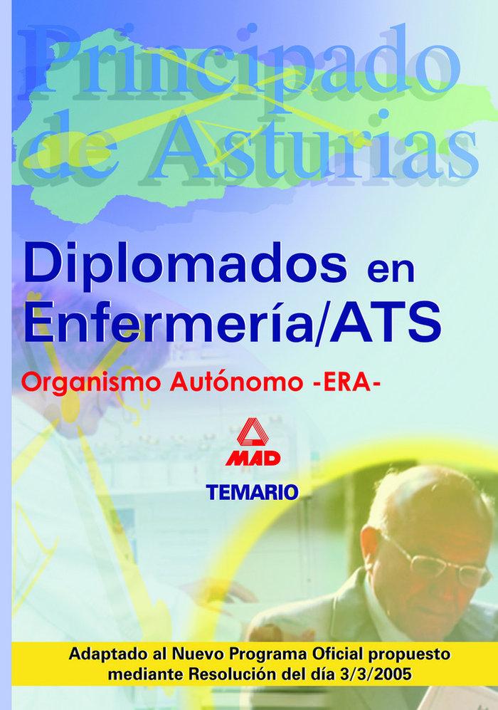 Diplomado enfermeria/ats-due principado asturias temario