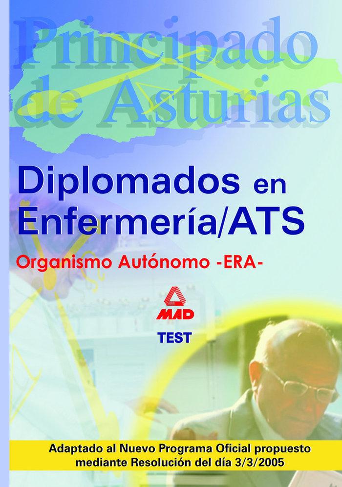 Diplomado enfermeria/ats-due principado asturias test