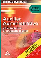 Auxiliares administrativos del servicio de salud de la comun