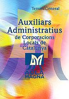 Auxiliars administratius corporacions loc