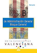 Grupo b administracion general de la generalitat valenciana.