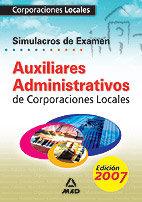 Auxiliares administrativos corporaciones