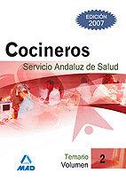 Cocinero ii servicio andaluz de salud