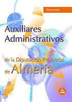 Auxiliares administrativos de la diputacion de almeria temar