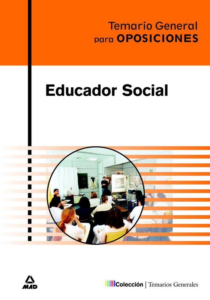 Temario educador social