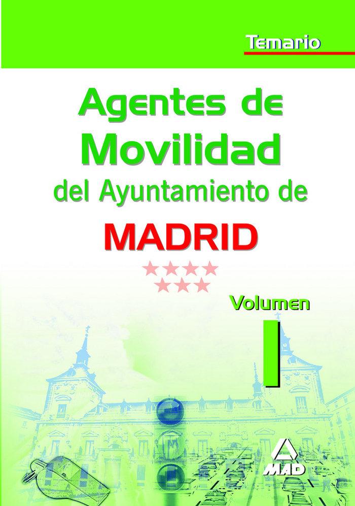 Agentes de movilidad del ayuntamiento de madrid. temario vol