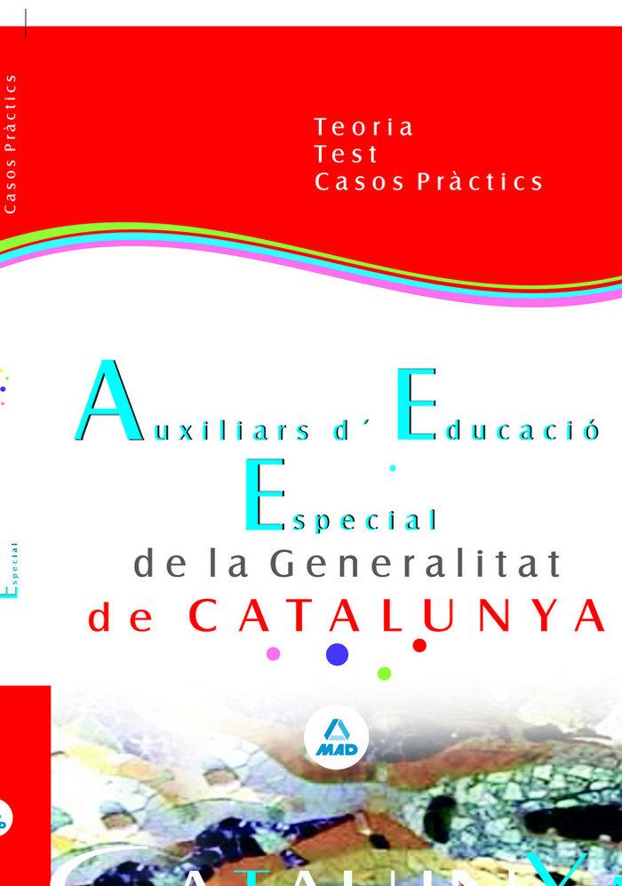 Auxiliars d educacio especial de la generalitat de catalunya