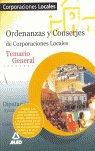 Ordenanzas y conserjes de corporaciones locales. temario gen