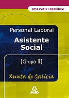 Asistente social de la xunta de galica .test