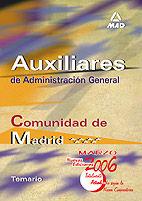 Auxiliares de administracion general de la comunidad autonom