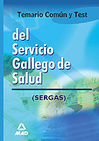 Servicio gallego de salud temario comun y test