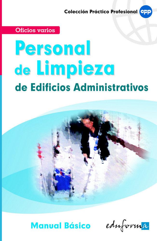 Personal de limpieza de edificios administrativos