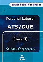 Ats/due de la xunta de galicia. temario especifico volumen i