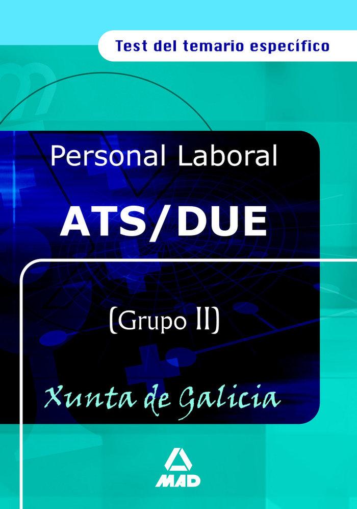 Ats/due de la xunta de galicia. test del temario especifico
