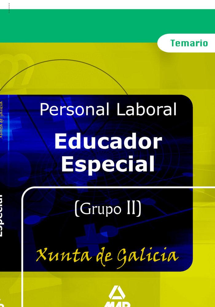 Educador especial de la xunta de galicia. temario