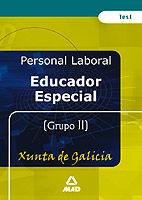 Educador especial de la xunta de galicia. test