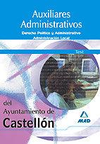 Auxiliares administrativos del ayuntamiento de castellon. te