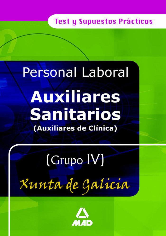 Auxiliares sanitarios (auxiliares de clinica). grupo iv. tes