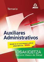 Auxiliares administrativos servicio vasco