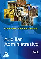 Auxiliar administrativo de la comunidad foral de navarra. te