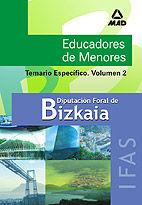 Educadores  de menores de la diputacion foral de bizkaia. in