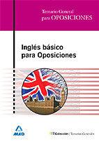 Ingles basico para oposiciones