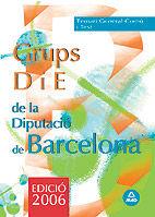 Grupo d i e de la diputacio provincial de barcelona. temari