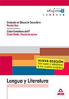 Lengua y literatura prueba libre eso cf gm n.e