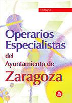 Operarios del ayuntamiento de zaragoza. temario