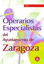 Operarios del ayuntamiento de zaragoza .test