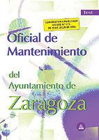 Oficial de mantenimiento del ayuntamiento de zaragoza. test