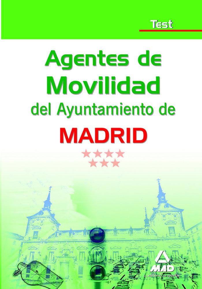Agentes de movilidad, ayuntamiento de madrid. test
