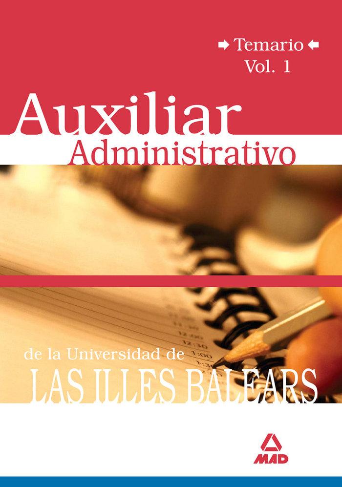 Auxiliares administrativos de la universidad de las illes ba