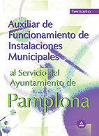 Auxiliar de funcionamiento de instalaciones municipales al s
