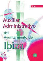Auxiliar administrativo del ayuntamiento de ibiza. test