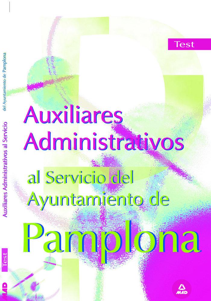 Auxiliares administrativos del ayuntamiento de pamplona. te
