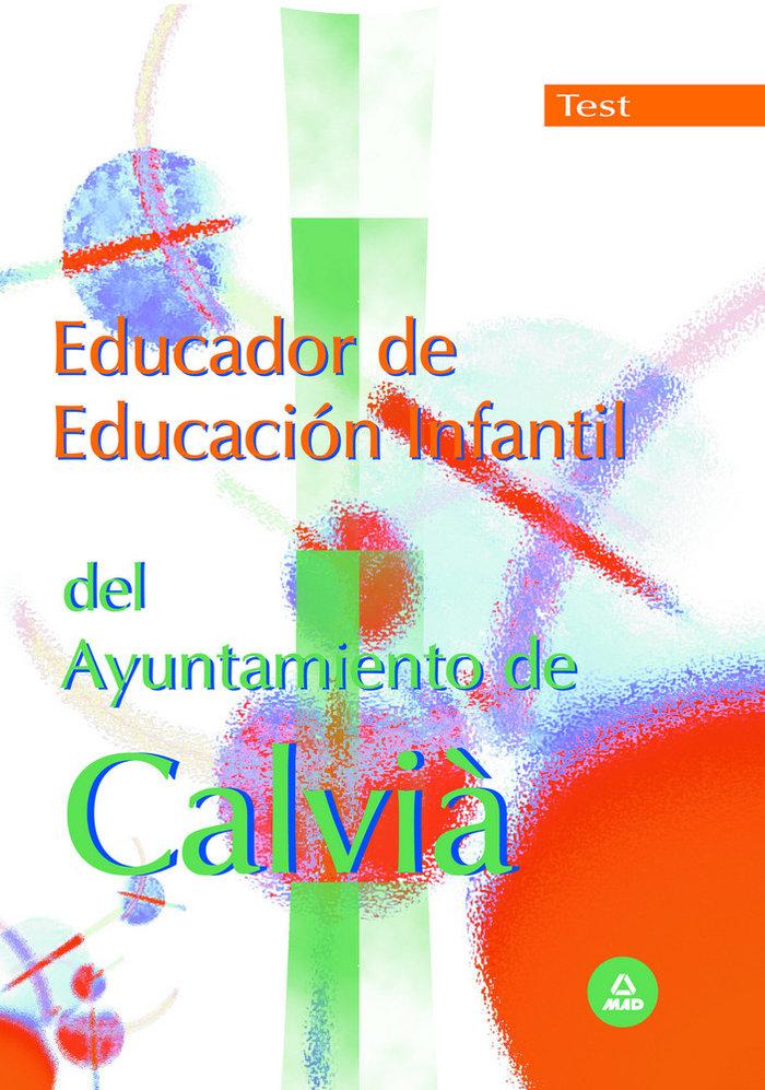 Educador de educacion infantil del ayuntamiento de calvia. t