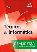 Tecnicos de informatica  del servicio vasco de salud-osakide