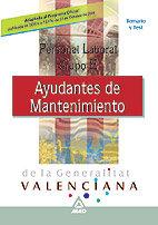 Personal laboral de la generalitat valenciana. ayudantes de