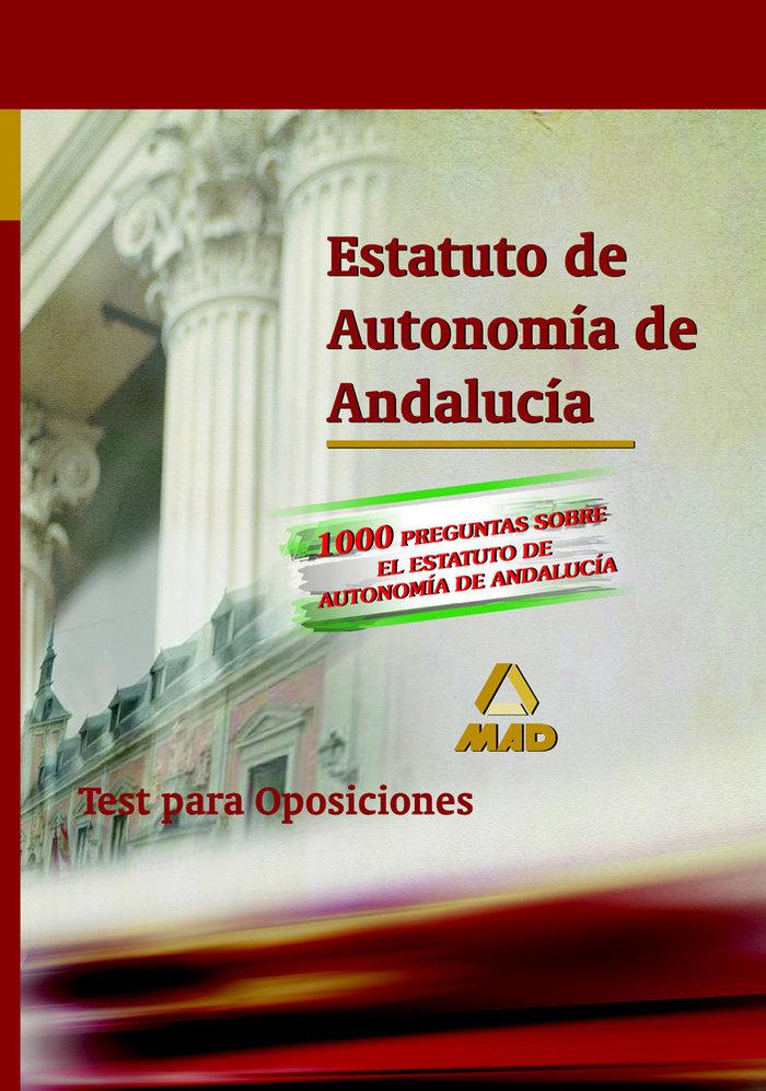 Estatuto de autonomia de andalucia. test