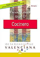 Cocinero de la generalitat valenciana tema