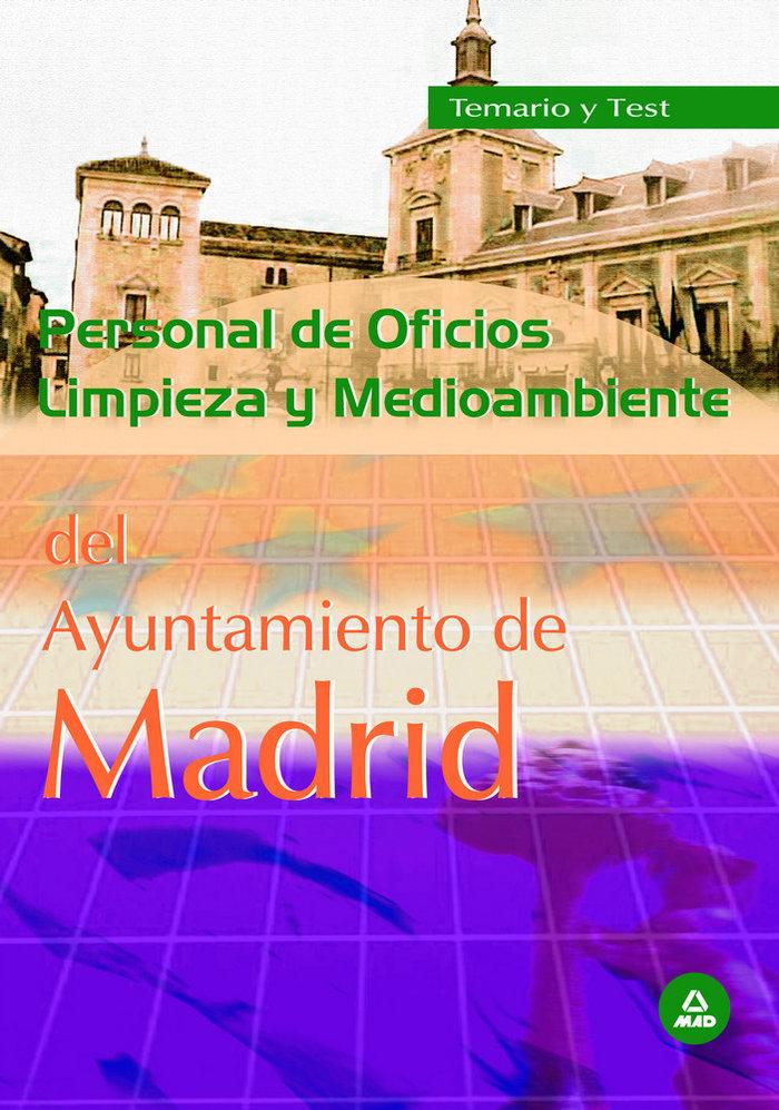 Personal de oficios, limpieza y medio ambiente, ayuntamiento