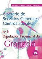Operarios servicios generales diputacion de granada