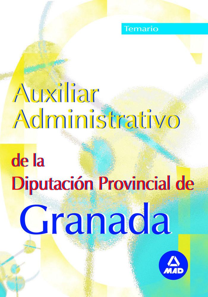 Auxiliar administrativo diputacion de granada temario