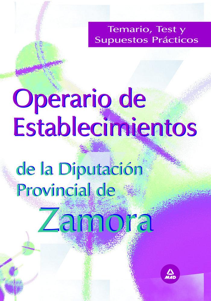 Operario de establecimientos de la diputacion provincial de
