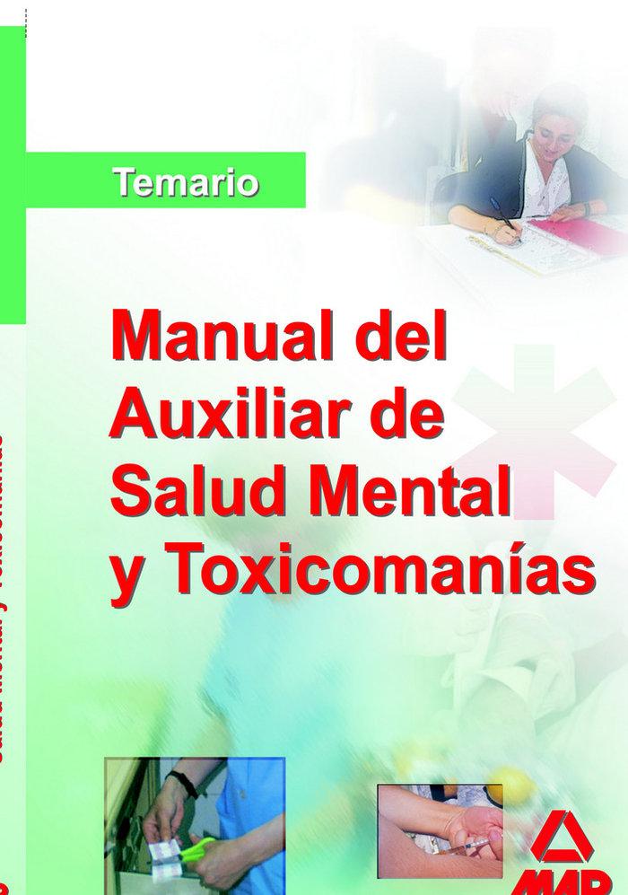 Manual auxiliar salud mental toxicomanias temario