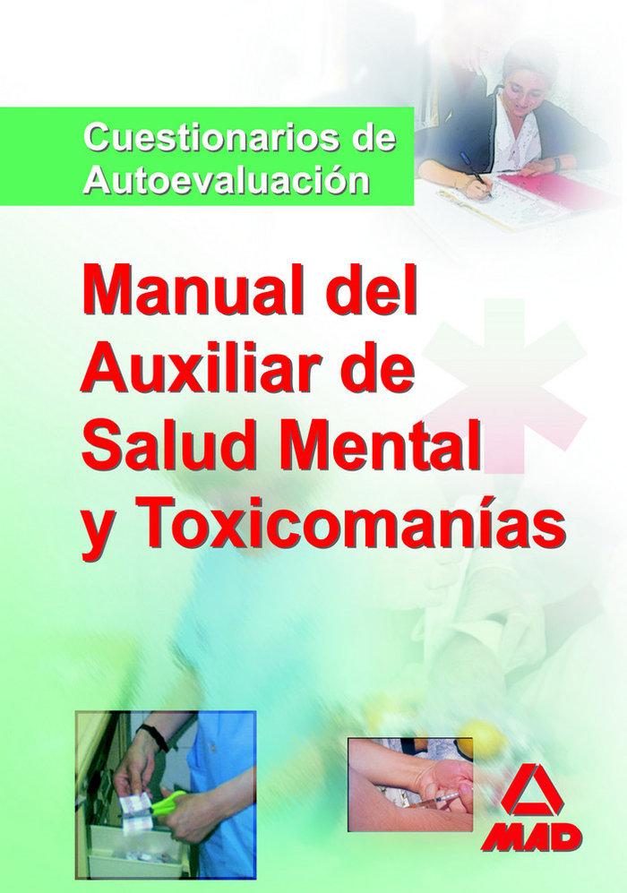 Manual auxiliares salud mental y toxicominias test